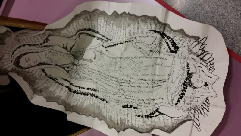 Kalligrafia ja korutekstaus - Kalligrafiaa uudella lailla