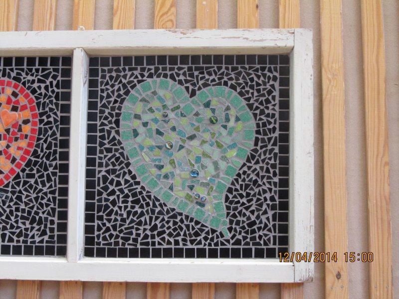 betoni- ja mosaiikkityot - mosaiikki ikkuna
